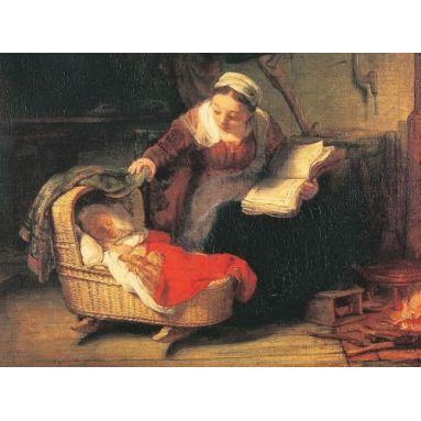 La Vierge berçant l'Enfant Jésus - CV 779