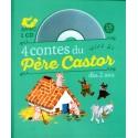 4 contes du Père Castor à écouter dès 2 ans - Avec un CD audio