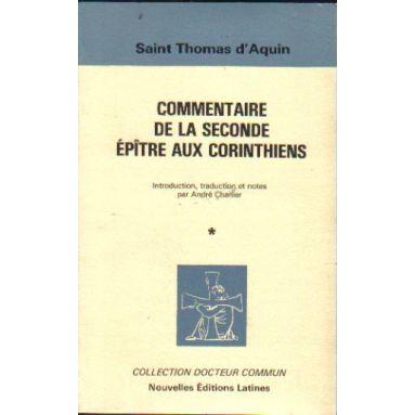 Commentaire de la Seconde Epitre aux Corinthiens