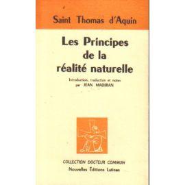 Les Principes de la Réalité naturelle